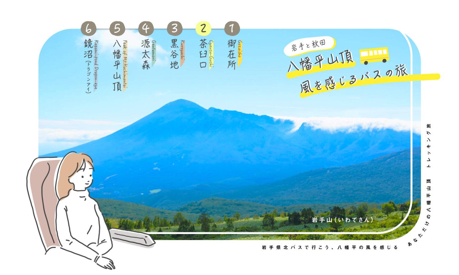 八幡平山頂バスの旅